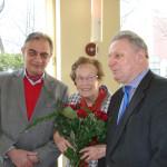 Z okazji jubileuszu najlepsze życzenia złożył red. Krystynie Mojkowskiej m.in. prezes ZG SDRP Jerzy Domański
