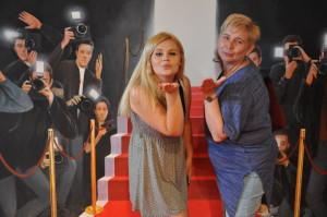 Tamara i Małgosia na czerwonym dywanie, Niechorze